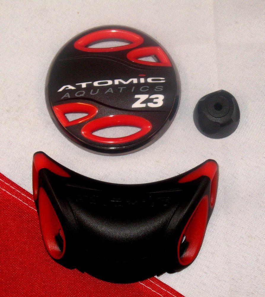 Red Atomic Z3 Color Kits for Scuba Diving Regulator