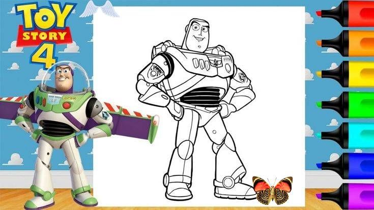 Tumblr Coloring Buzz Lightyear Toy Story 4 Coloring Pages Markers Art And Coloring Fun Link In Bio Watch And Sub Marker Art Disney Lover Disney Love
