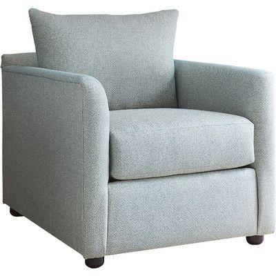 Modern Furniture Upholstery allmodern custom upholstery alice chair upholstery: nobletex rain