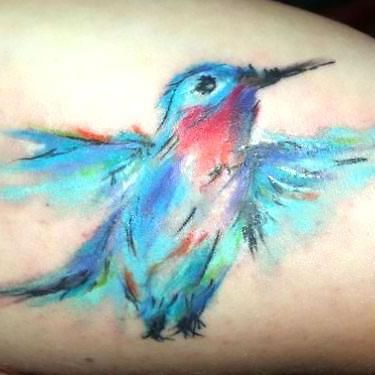 Watercolor Bluebird Tattoo Idea Bluebird Tattoo Bird Tattoo