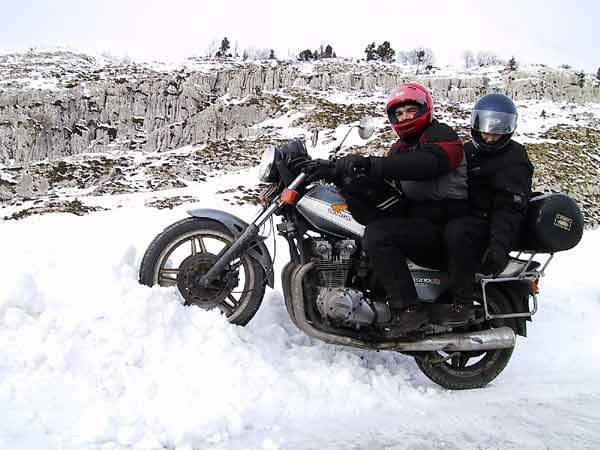 Motorcycle Riding In Cold Weather Riding Motorcycle Cold