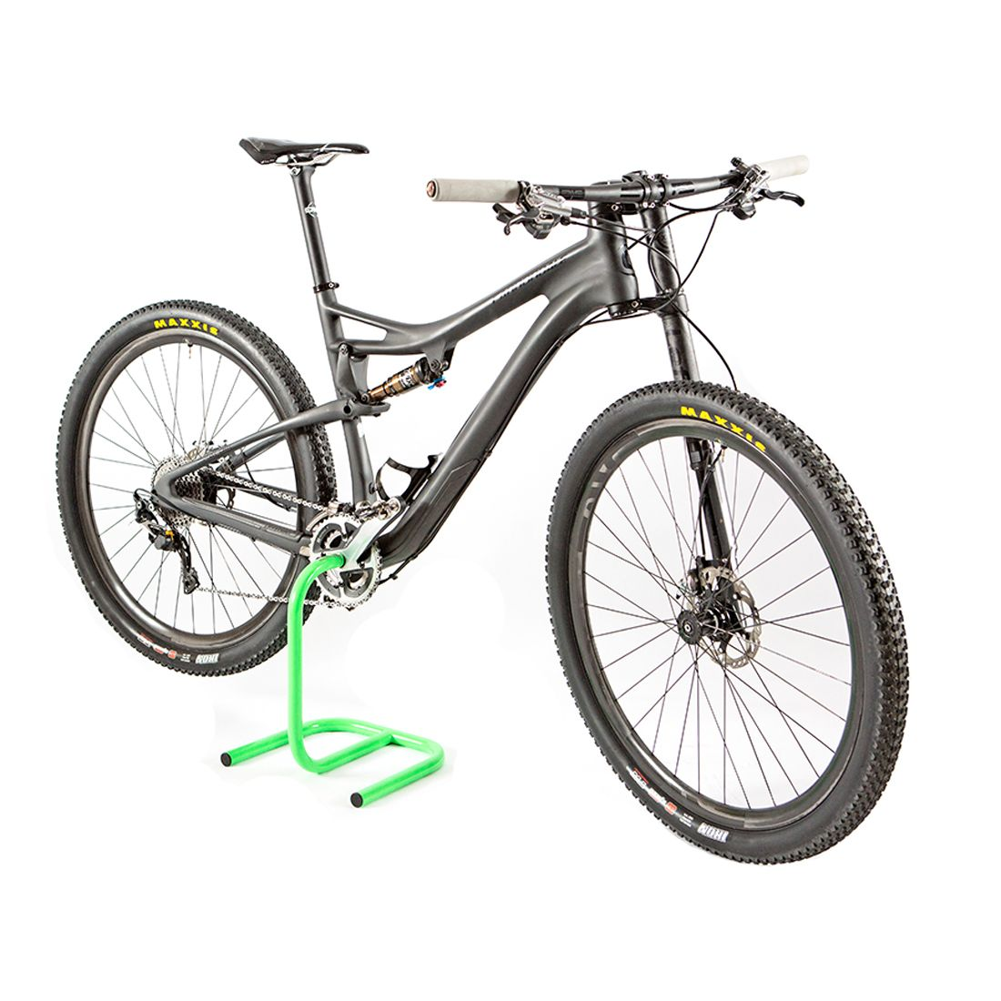 Scorpion Flow Green Biking Workout Bike Stand Bike Storage Stand