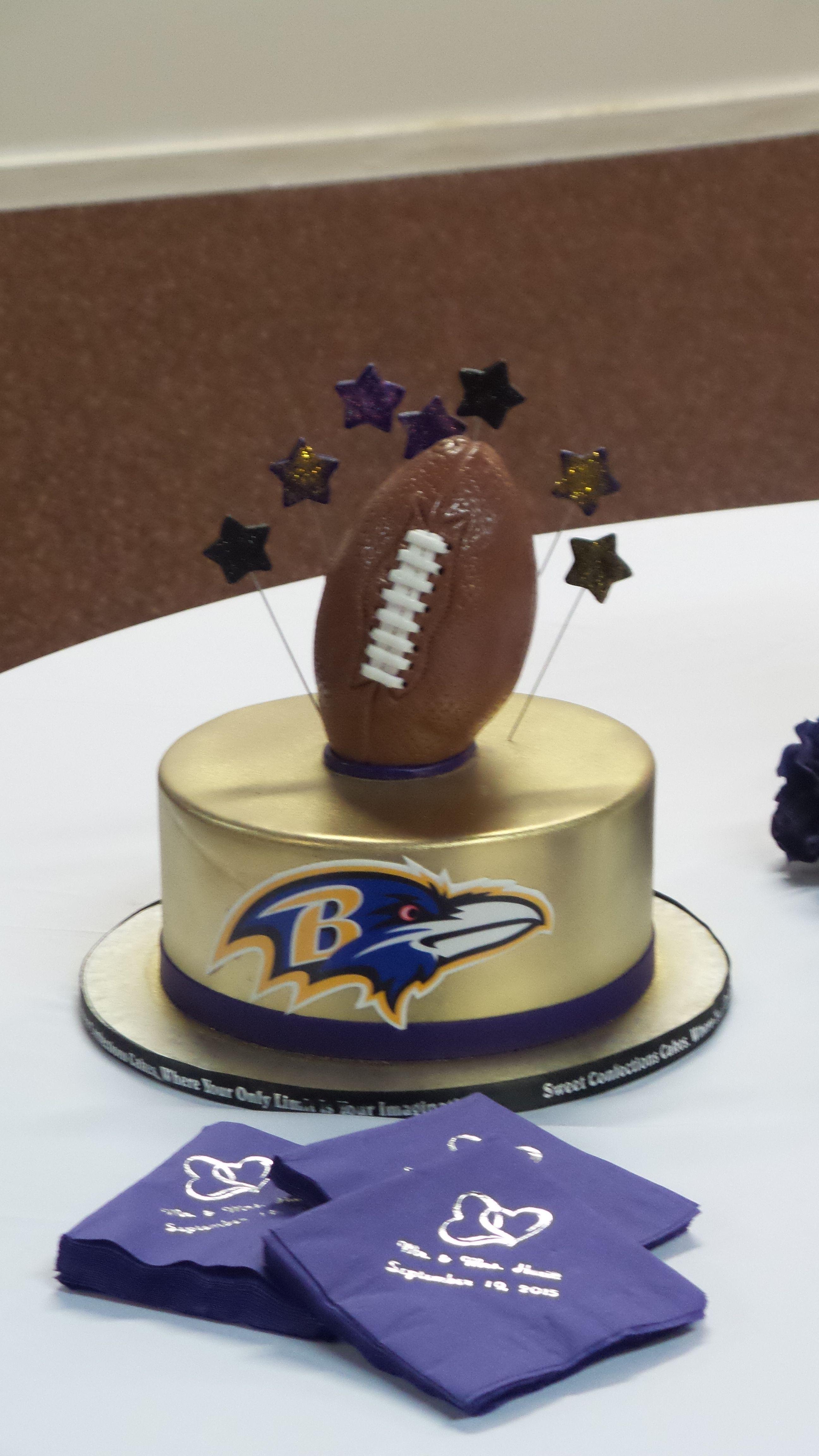 Baltimore Ravens Fan Baltimore Ravens Cake 40th Birthday Cakes