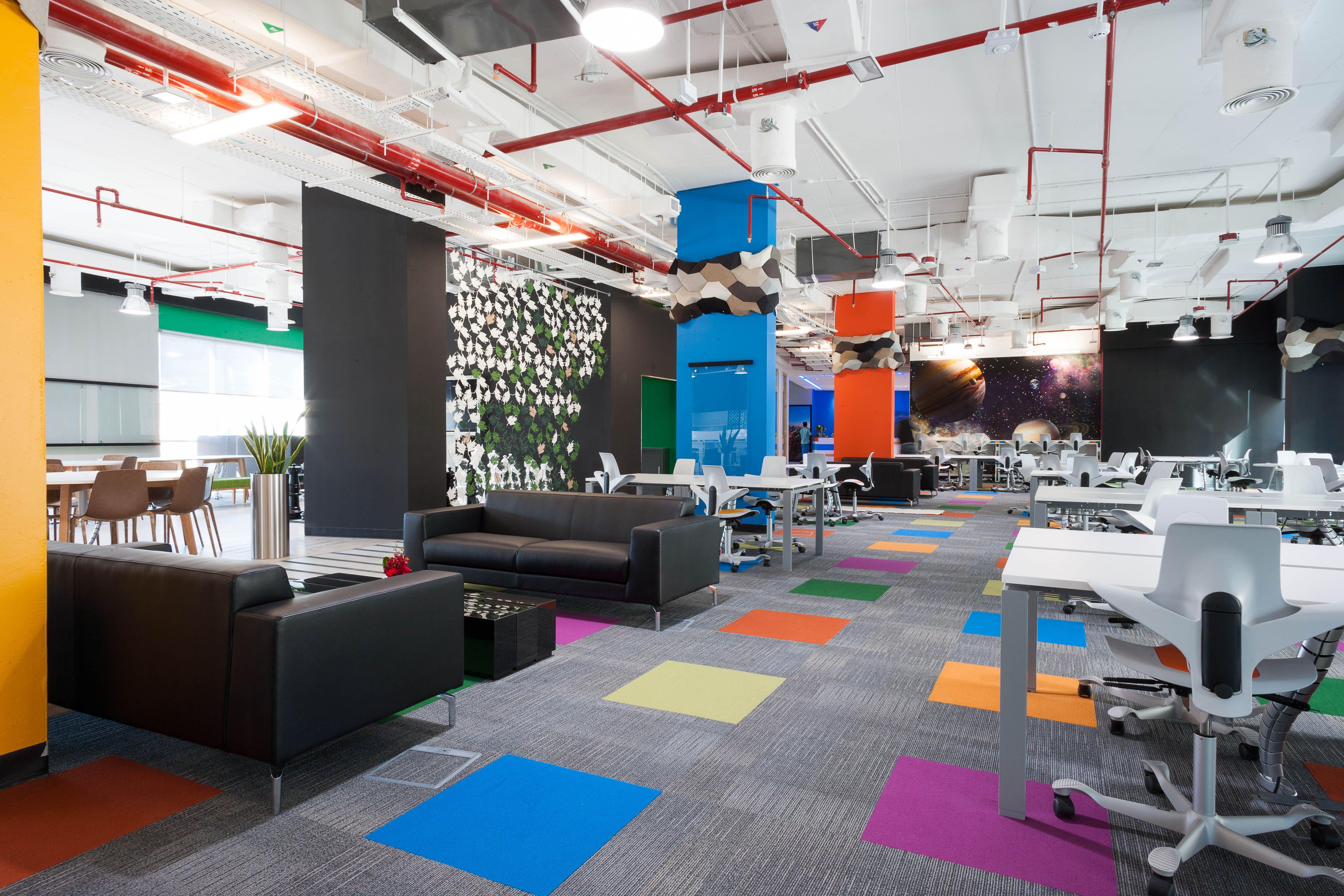 Dubai technology entrepreneur centre dtec in dubai united arab emirates government commercialspaces commercialinteriors design flooring