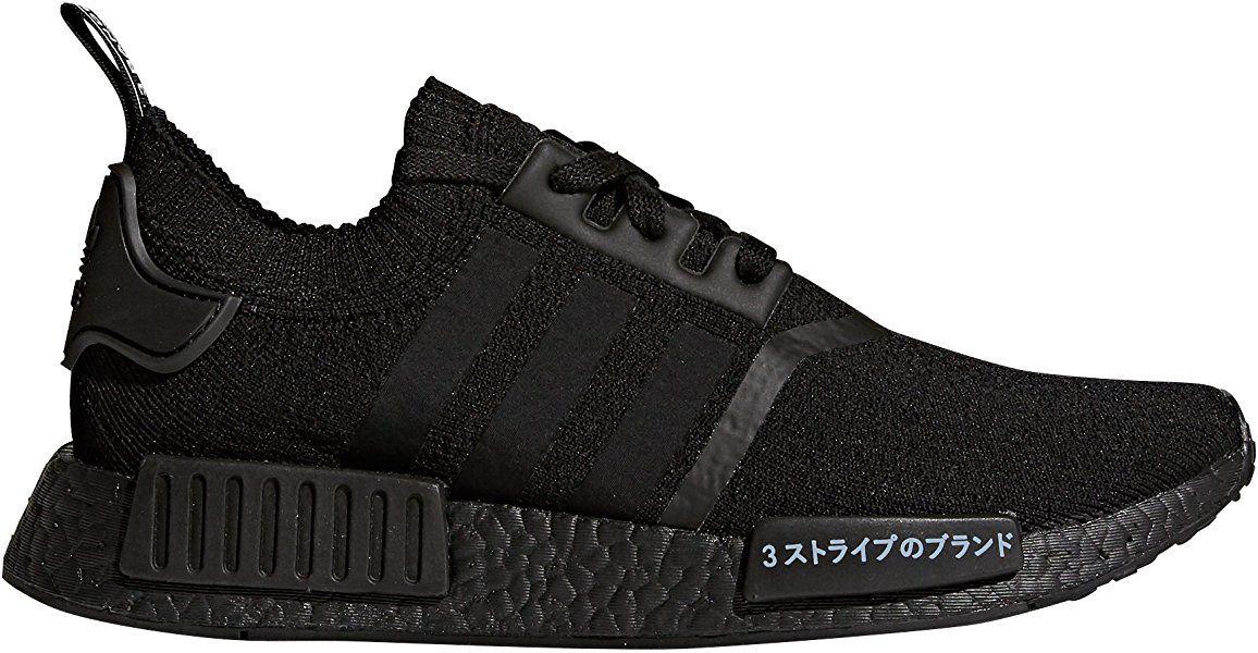 buy popular 9a283 7c0cd adidas Men s NMD R1 PK Fitness Shoes, Black (Negbas Negbas Negbas),