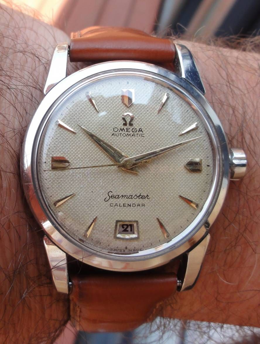 Beautiful Vintage OMEGA Seamaster Calendar In Stainless ...