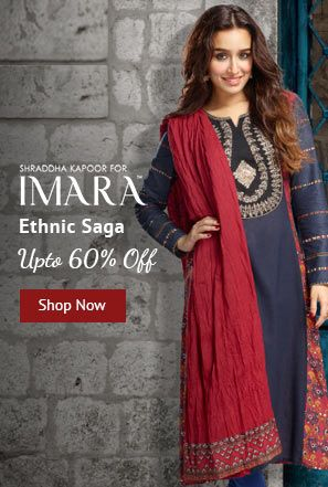 Online Shopping Sale Up To 50 Off On Imara Women Ethnic Wear