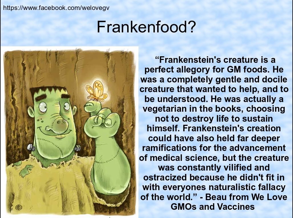 franken food Frankenfood meaning, definition, what is frankenfood: food that has been produced by plants th: learn more.