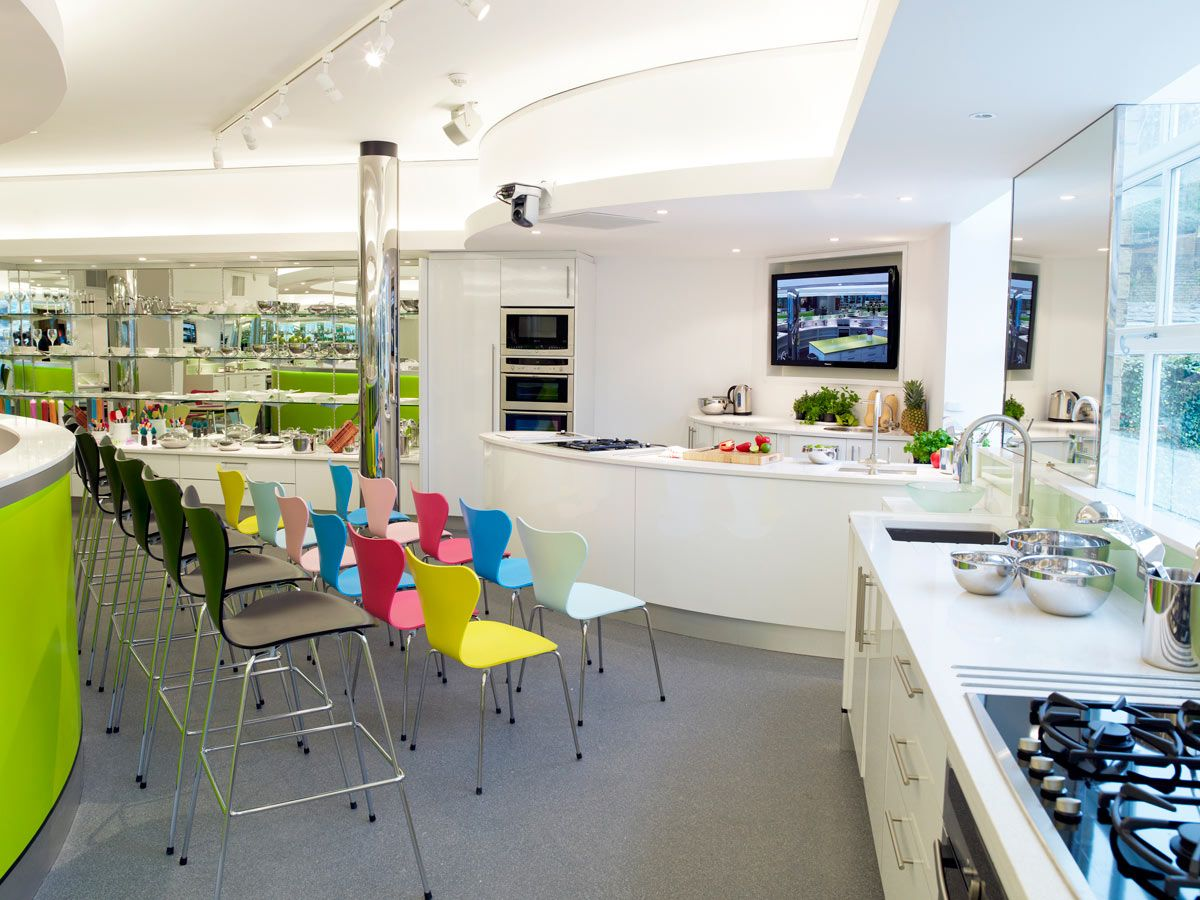 kitchen table cooking school modern culinary school kitchen Google Search