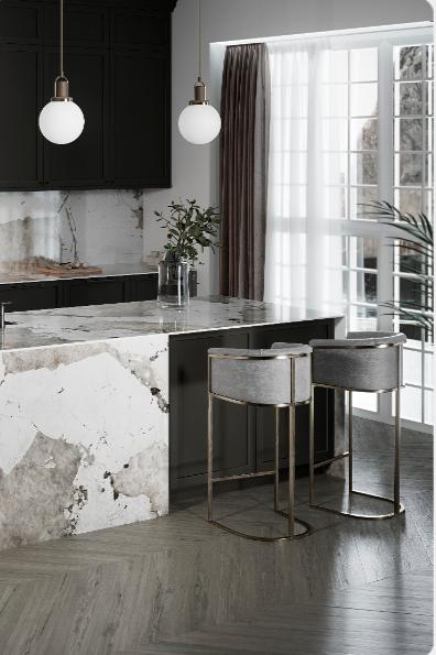 Dekton Khalo In 2020 Moderne Kuche Arbeitsplatte Und Design