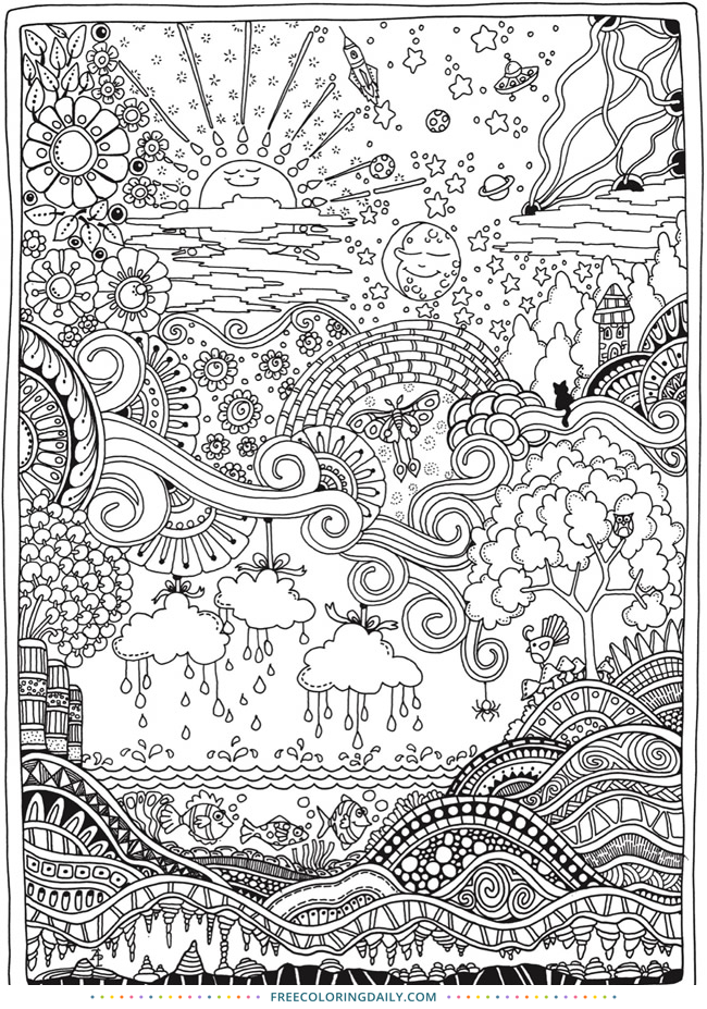 Pin On 2020 Adult Colouring Pages Free