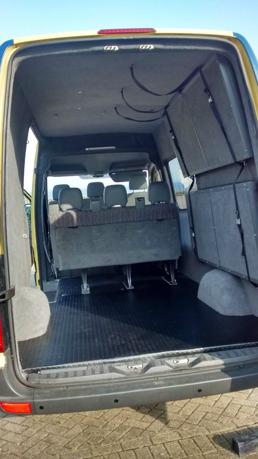 Vw Crafter 6 Seater 4 Berth Camper Day Mountain Bike Surf Van Band Bus Sprinter Camper Van Conversion Diy Sprinter Camper Van Camping