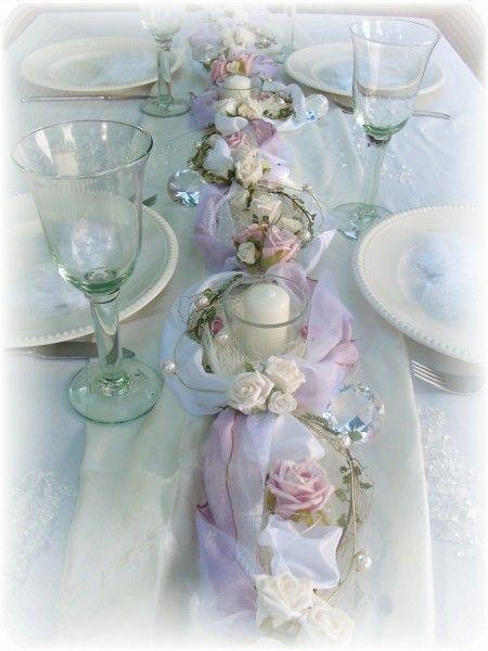 1 2m Gesteck Rosa Weiss Taufe Tischdeko Gestecke Deko Flowers