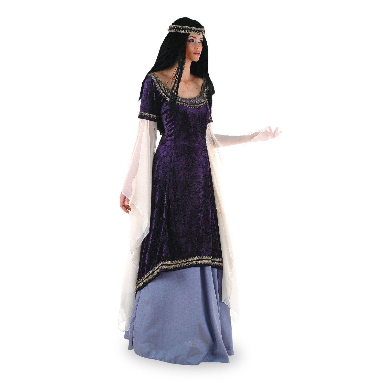 Déguisement princesse des elfes médiévale luxe femme