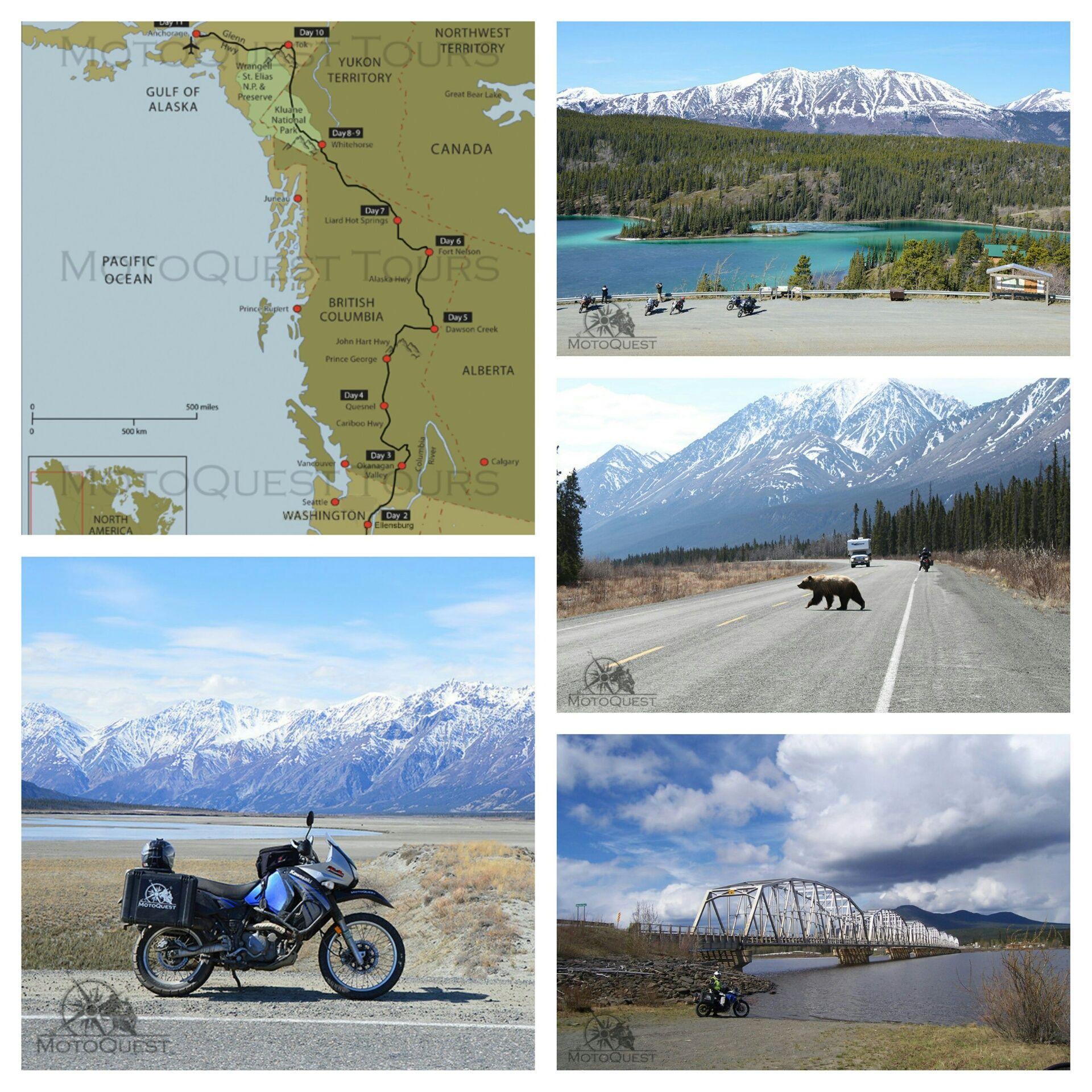 North To Alaska Motorcycle Tour