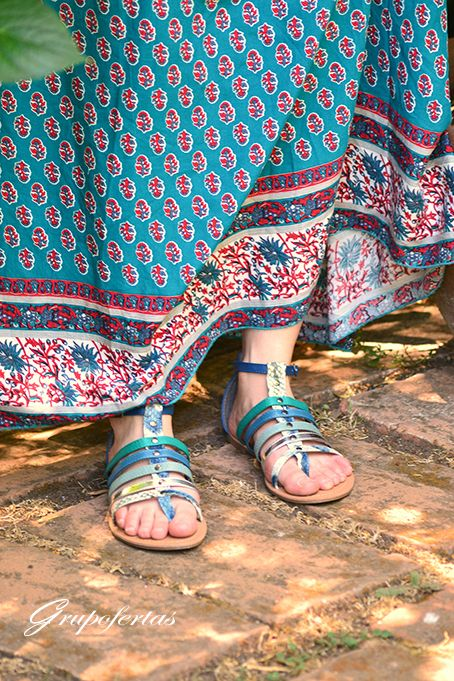 sandalia romana baja