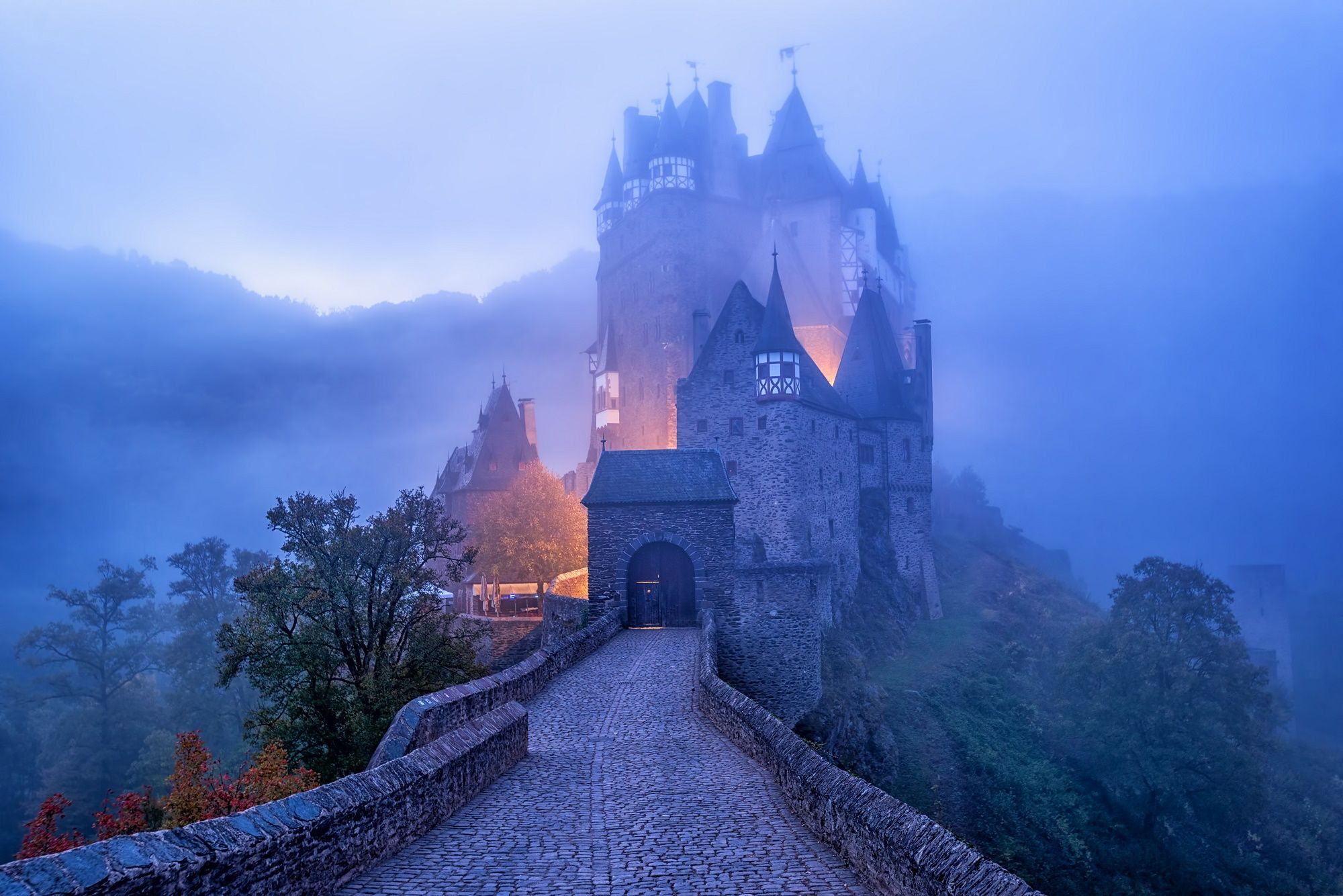 farenexus.com/  Eltz Castle is one of the most impressive castle in Germany. #Eltzcastle #impressive #famous #castles #Germany #farenexus #cheapairtickets #cheapairline #montreal #canada