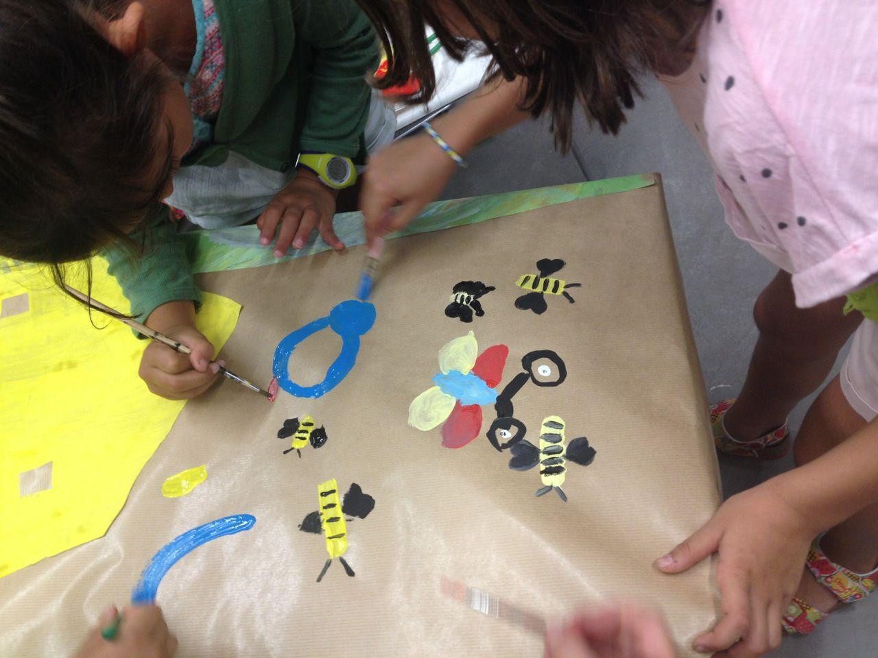 Xup-xup creatiu d'estiu:Abelles i papallones no poden faltar a la canòpia!