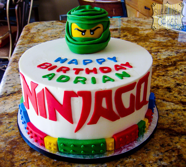 Ninjago Birthday - Buttercream Ninjago birthday cake with fondant ...