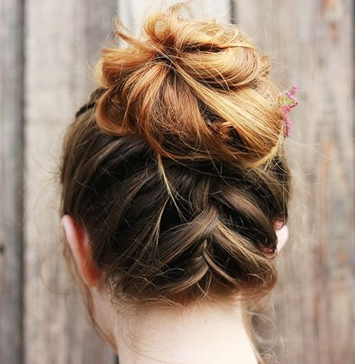 60 Trendiest Updos For Medium Length Hair Hair Styles In