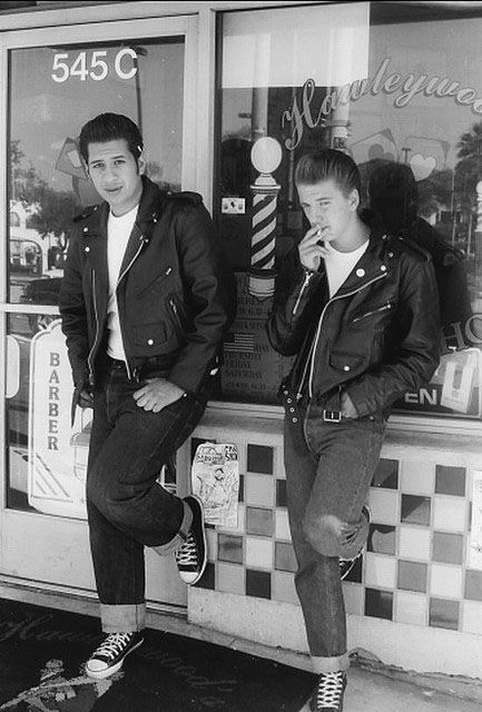 Greaser dress style