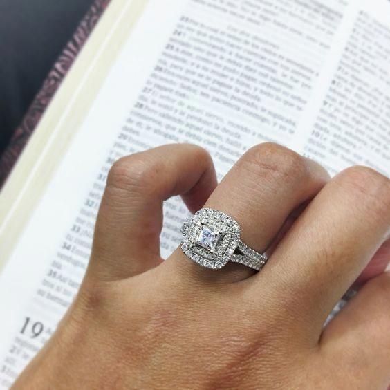 2 00 Ct Princess Diamond Womens Wedding Engagement Ring
