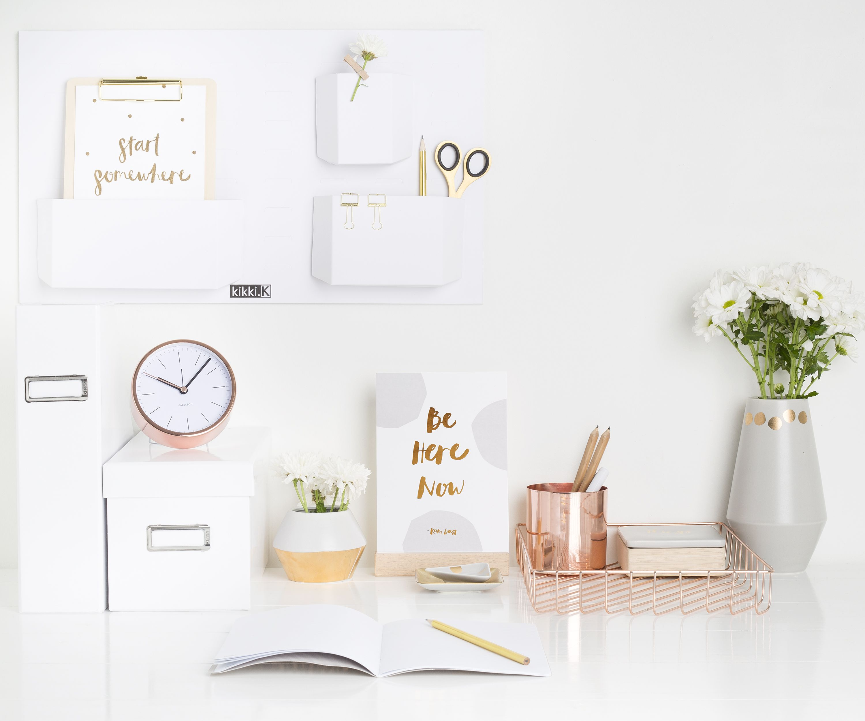 Teapot Svenska Hem Rose Gold Decor Office Decor Desk Inspiration