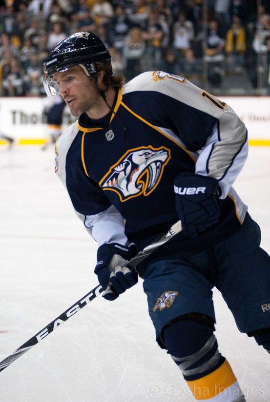 Mike Fisher Nashville Predators Hockey Nashville Hockey Predators Hockey