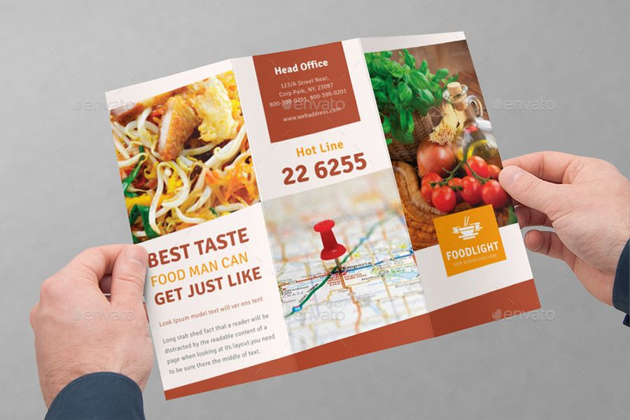 Image result for trifold brochure catering   Trifold Brochure ...