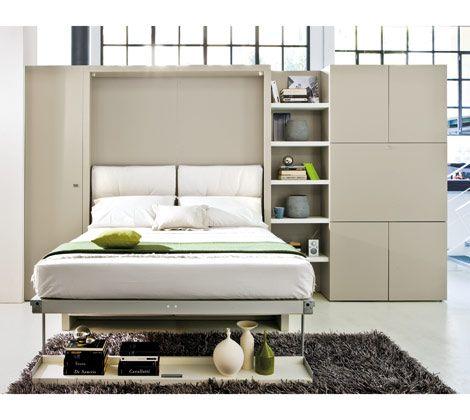Nuovoliola 10. Platzsparende BettenSchrankbettenMurphy BettenMurphy Bett  Mit CouchDoppelbettenKleine RäumeMaximieren ...