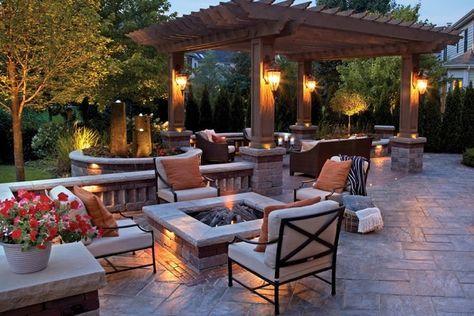 am nagement de jardin cosy comment cr er une ambiance chaleureuse camping. Black Bedroom Furniture Sets. Home Design Ideas