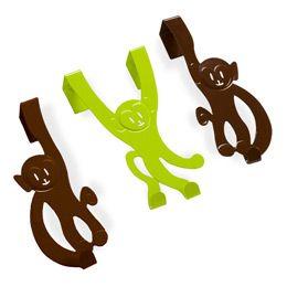 The Container Store > Monkey Doorhangers Fun