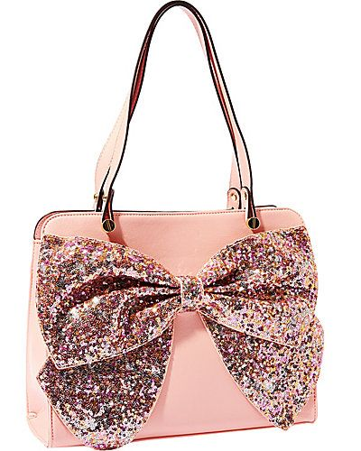 07bae7eb6d1e Bow Regard Large Satchel from Betsey Johnson
