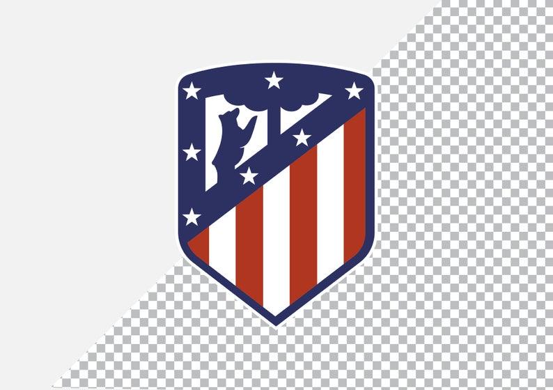 Spanish La Liga Football Club Logos Ai Eps Jpg Pdf Png Etsy In 2021 Atletico Madrid Logo Spanish La Liga La Liga