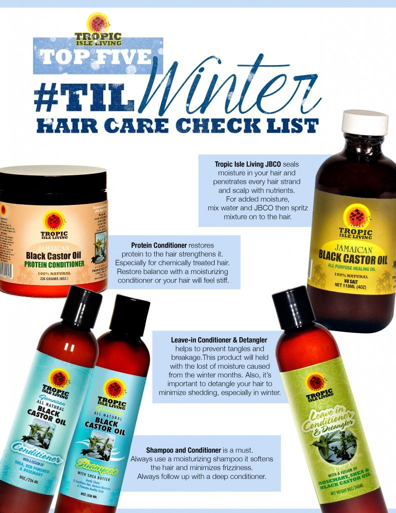 Top Five TIL Winter Hair Care Checklist Hair care