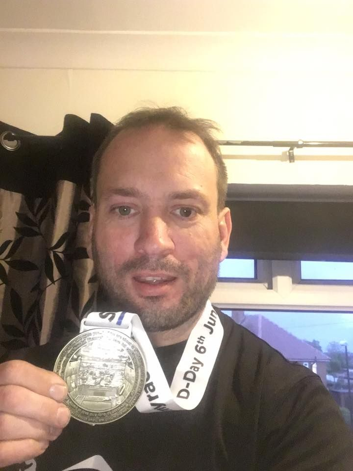 Another proud D-Day Virtual Race finisher!