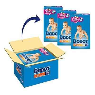 Si tienes un pequeño que pese entre 9 y 15 Kg, este pack de pañales Dodot caja Azul está a un precio muy bueno, ya que cada pañal te sale a 0,176 euros.  Chollo en Amazon España: 192 pañales Dodot Talla 4 por solo 33,94€, su precio mínimo histórico. cada pañal sale a 0,176 euros.