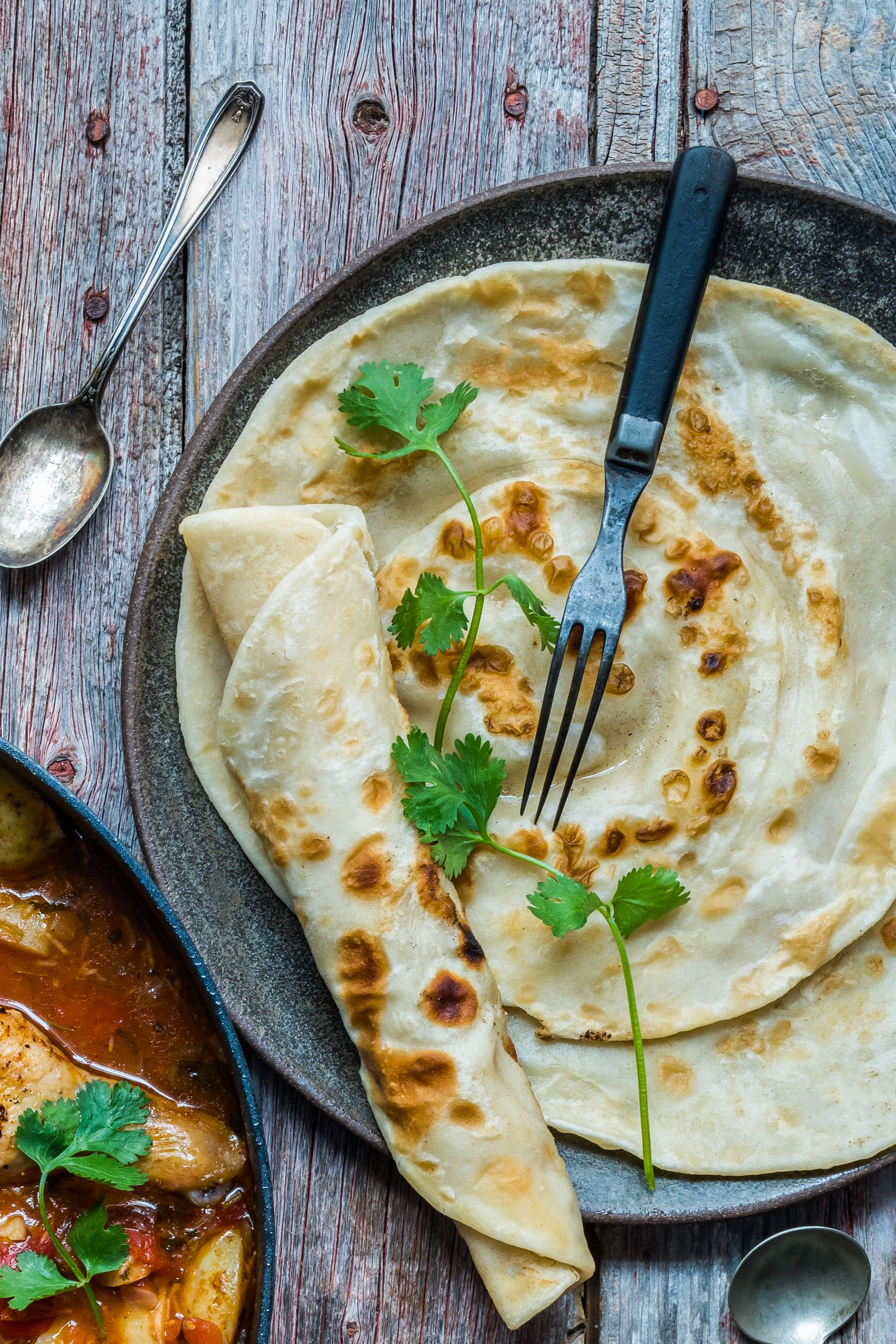 Kenyan-Style Chapati Bread (With images) | Chapati recipes ...