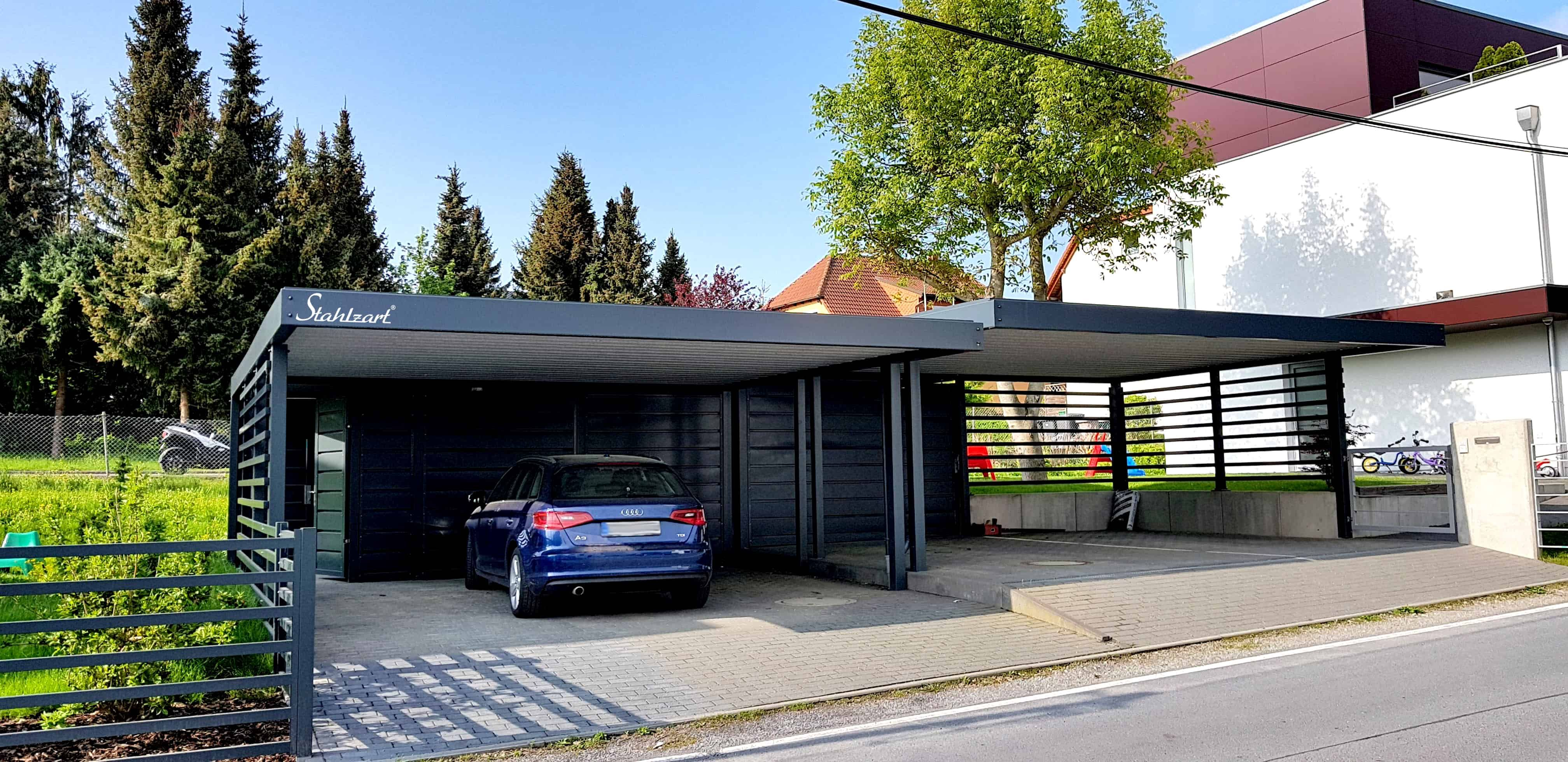 Stahlzart Carport Design Studio · Carport Metall Stahl