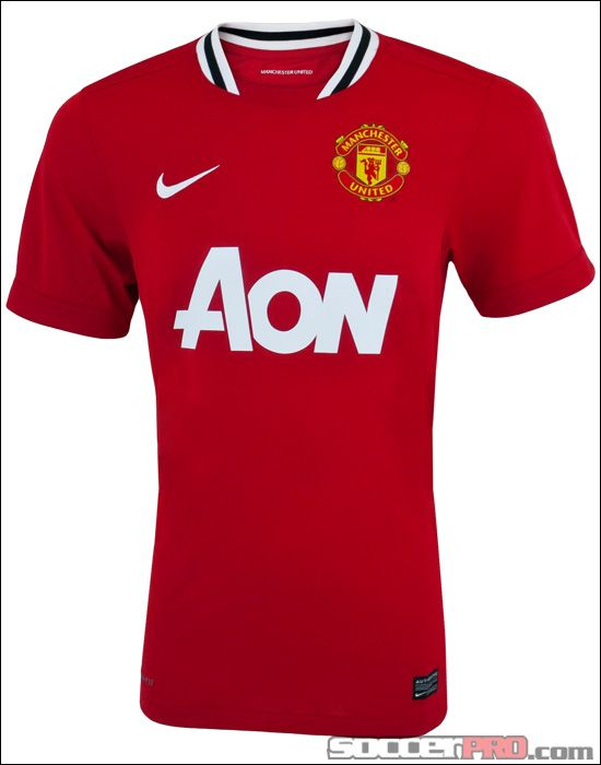 318206006bb Manchester United 12-13 Home Shirt  Nike 479278 623