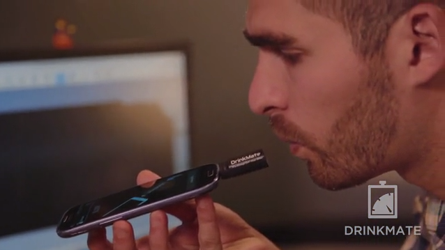 DrinkMate Is A Tiny, Plug-In Breathalyzer For Android Devices   TechCrunch