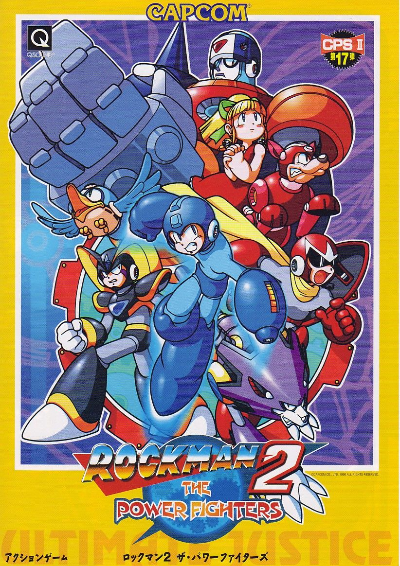 rock man 2 the power fighters mega