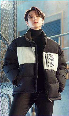 BTS X FILA POPCORN MEDIUM DOWN JACKET