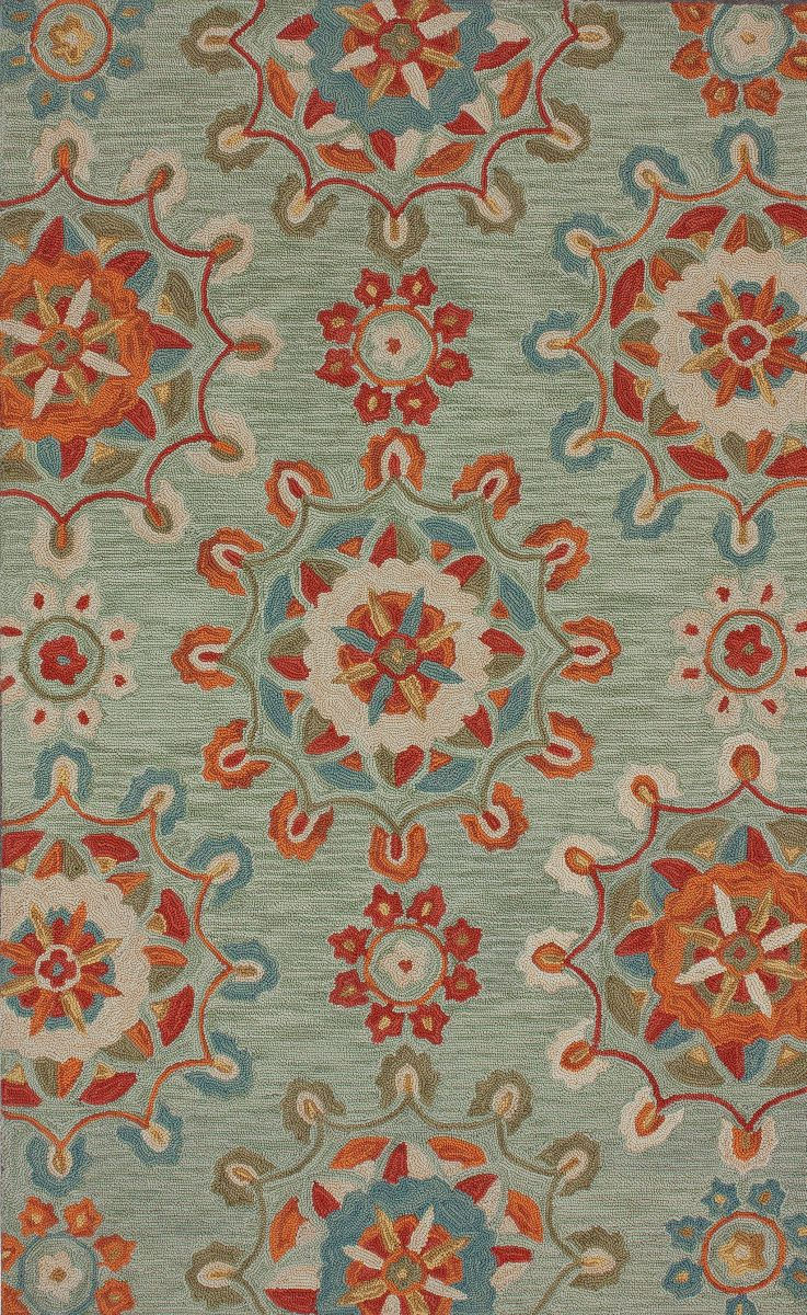 This Hand Tufted Transitional Style Nuloom Rug Features A Stunning