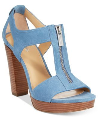 3c436511e62 Buy michael kors heels blue   OFF57% Discounted