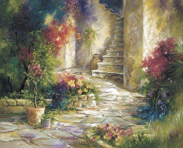 beaux tableaux de m bell belles peintures paysages tableau pinterest peinture paysage. Black Bedroom Furniture Sets. Home Design Ideas