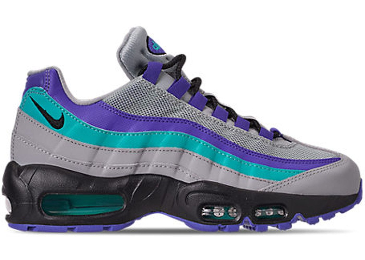 latest shoes for cheap elegant shoes Nike Air Max 95 Wolf Grey Grape | Air max 95, Air max, Nike air max