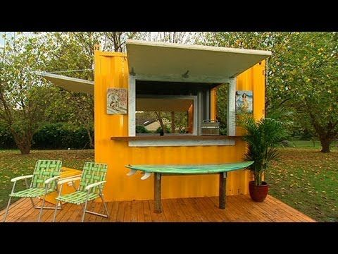 Better Homes And Gardens Diy How To Build A Bbq Beach Shack Part Two Gardening
