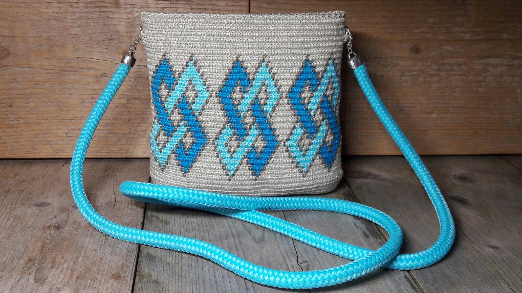 Mochila Ovaal Mini Wayuu Mochila Bag Tapestry Crochet Crochet