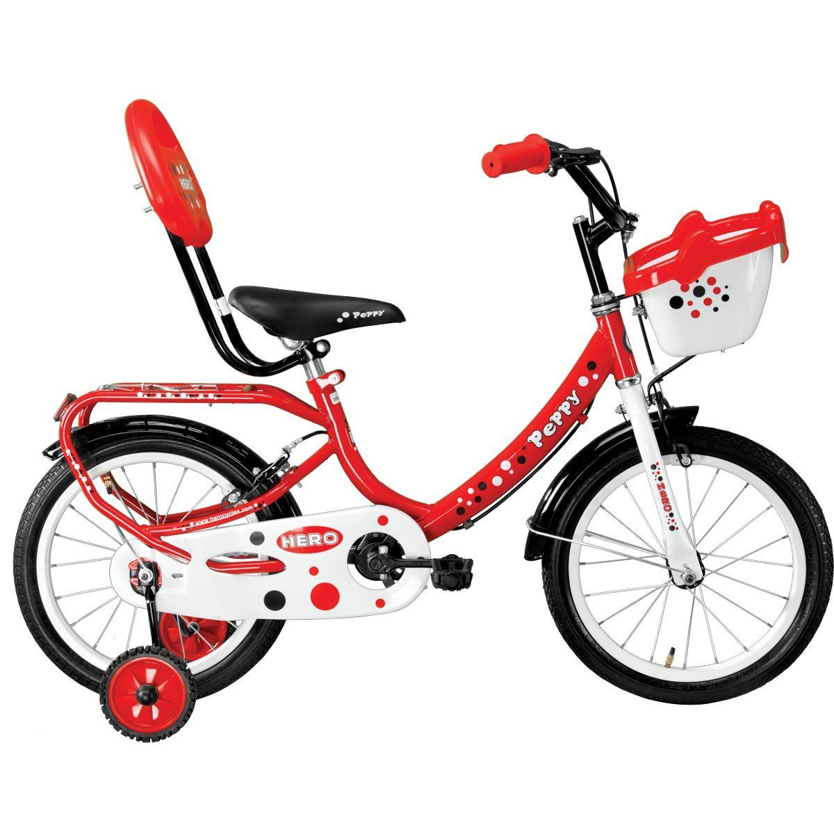 Best Baby Bicycle for 3 4 5 6 year old kids Hero Peppy 16T Junior Bike